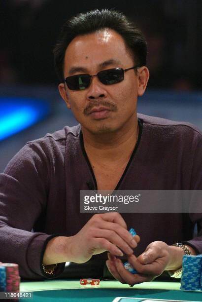 David Pham competes in the final table of the World Poker Tour's Doyle Brunson North American Poker Championship at the Bellagio Hotel in Las Vegas...