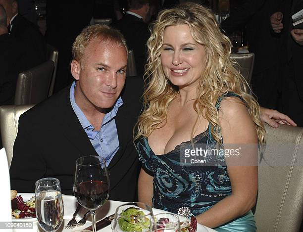 David Pinsky and Jennifer Coolidge during 16th Annual GLAAD Media Awards Hollywood After Party in Los Angeles California United States