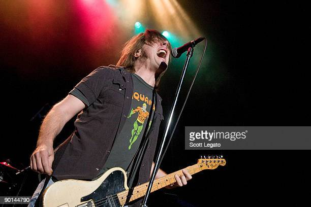 David Pirner of Soul Asylum performs at the DTE Energy Center on August 27 2009 in Clarkston Michigan