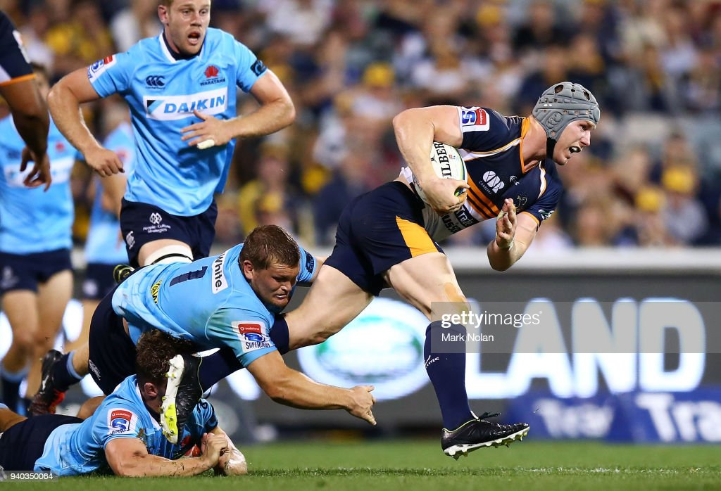 Super Rugby Rd 7 - Brumbies v Waratahs : News Photo