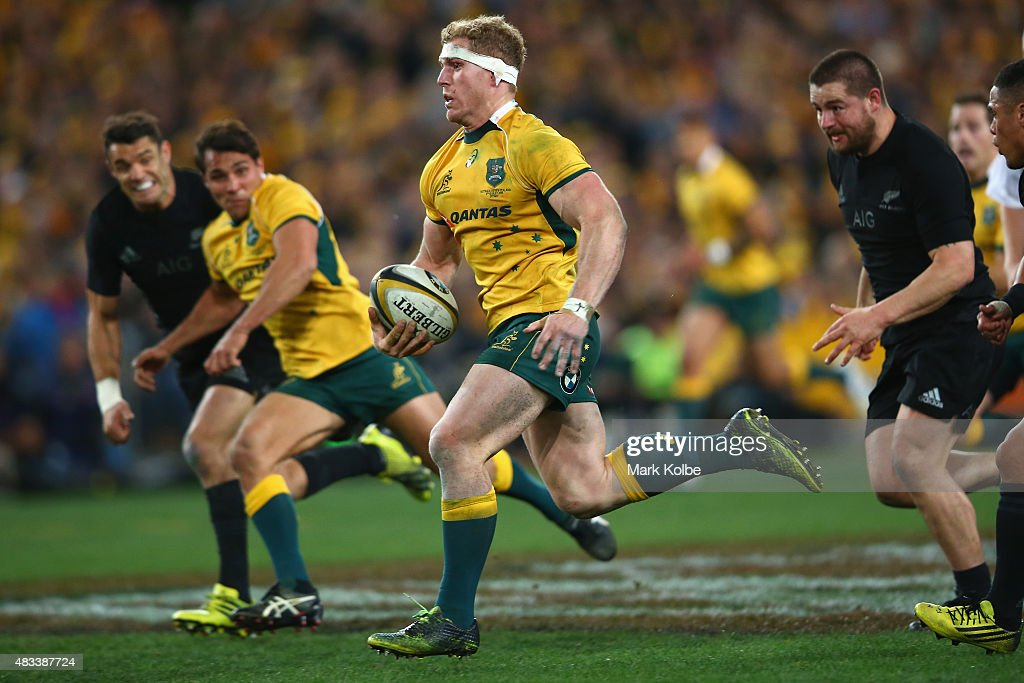 Australia v New Zealand - The Rugby Championship : News Photo