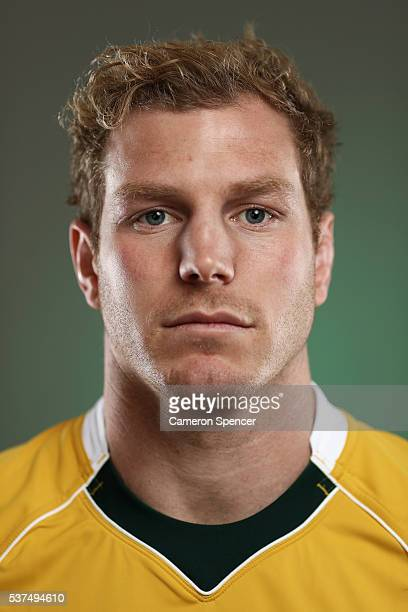 David Pocock of the Wallabies poses during an Australian Wallabies portrait session on May 30 2016 in Sunshine Coast Australia