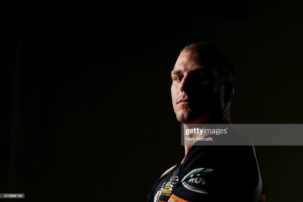 David Pocock poses during an Australian Wallabies media opportunity at Rugby Australia HQ on February 9, 2018 in Sydney, Australia.