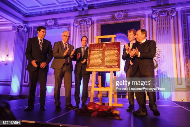 David Poile President of Hockey Operations and General Manager of the NHL's Nashville Predators Member of Parliament Stephane Lauzon Montreal...