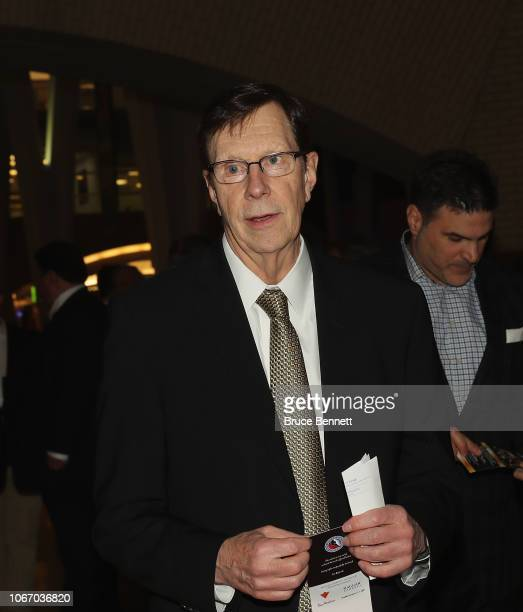 David Poile walks the red carpet prior to the 2018 induction ceremony at the Hockey Hall Of Fame on November 12, 2018 in Toronto, Ontario, Canada.