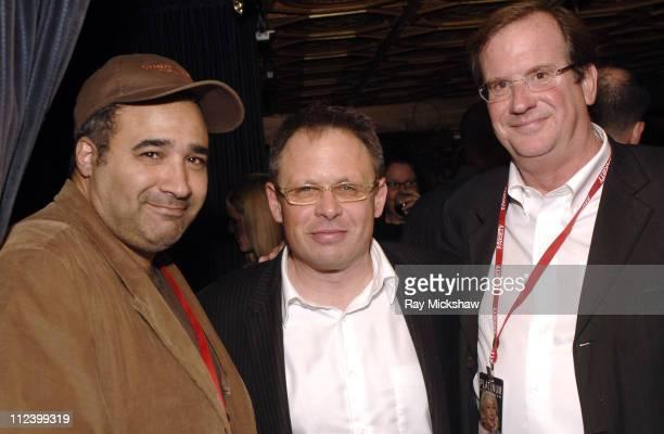 David Poland film critic Bill Condon director and Pete Hammond film critic