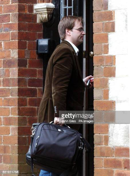 David Prescott the son of Deputy Prime Minister John Prescott arrives at the family home in the Sutton area of Hull on the day the Daily Mirror...