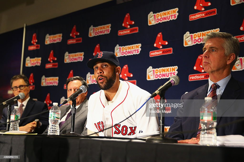 Boston Red Sox Introduce David Price : News Photo