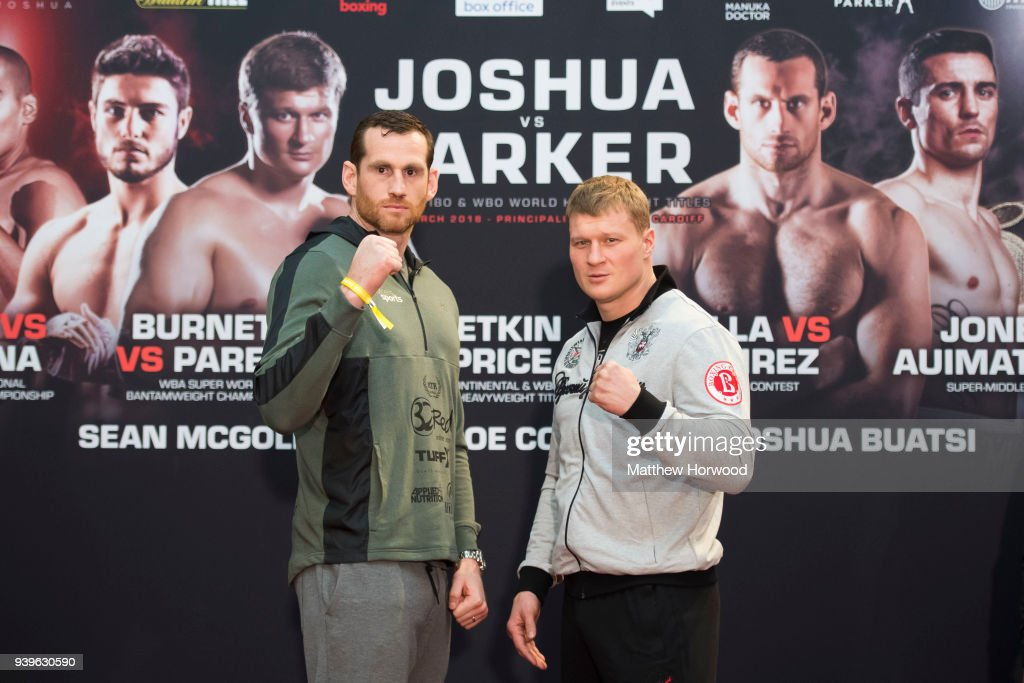 Anthony Joshua v Joseph Parker Undercard Press Conference in Cardiff