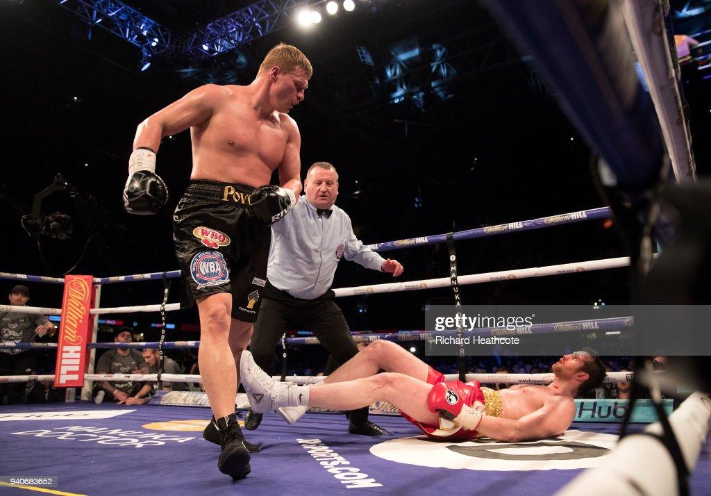 Anthony Joshua v Joseph Parker -  World Heavyweight Title Fight : News Photo