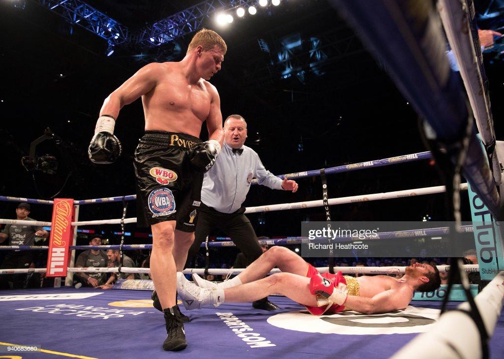 Anthony Joshua v Joseph Parker -  World Heavyweight Title Fight