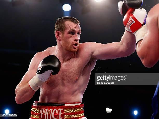 David Price of Great Britain in action during his heavyweight fight against Yaroslav Zavorotnyi of Ukraine at Sport und Kongresshalle on June 7 2014...