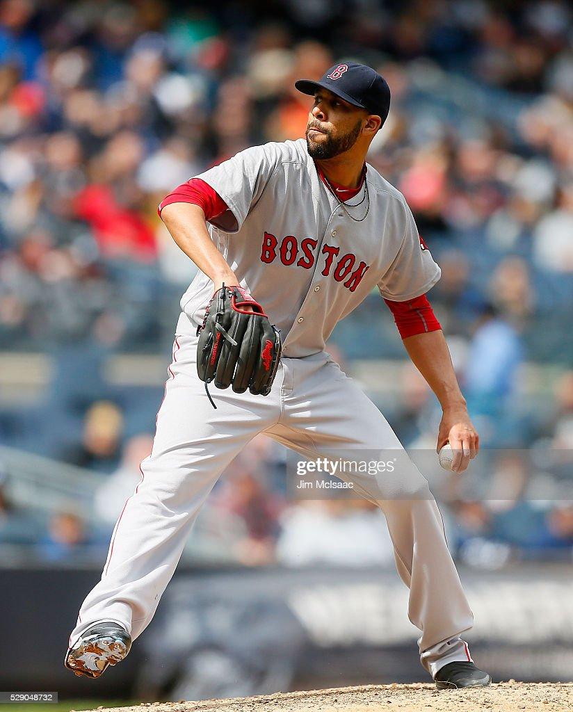 David Price Of The Boston Red Sox In Action Against The