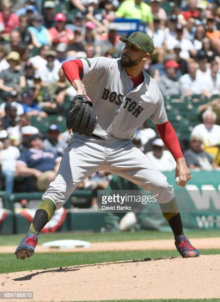 David Price of the Boston Red Sox pitches against the Chicago White Sox during the first inning on May 29 2017 at Guaranteed Rate Field in Chicago...