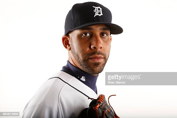 David Price of the Detroit Tigers poses for a photo during the Tigers' photo day on February 28 2015 at Joker Marchant Stadium in Lakeland Florida