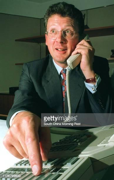 David Prince finance director of HGK Telecom Photo by Jon Hargest 31 Jul 95