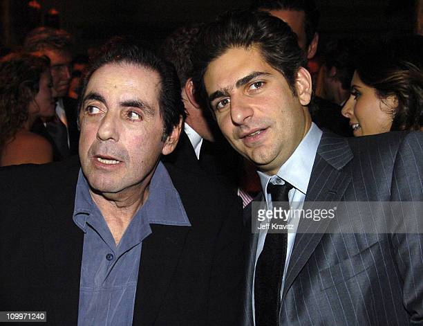 David Proval and Michael Imperioli during HBO Golden Globe Awards Party Inside at Beverly Hills Hilton in Beverly Hills California United States