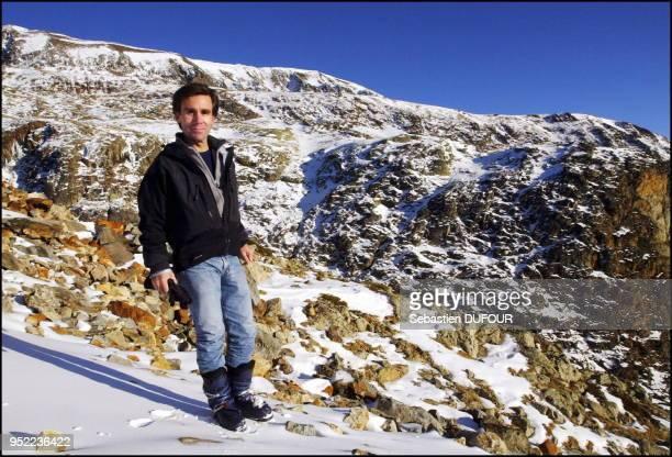 David Pujadas lors des 7eme rencontre meteo montagne de l'Alpe d'Huez