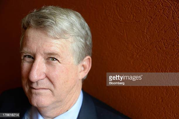 David Quinlivan president and chief executive officer of Alacer Gold Corp poses for a photograph at the Diggers and Dealers mining forum in...