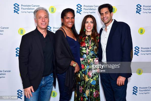 David Rabin Nicki Rabin Heba Abedin and Sohail Khalid attend the 14th Annual Prostate Cancer Foundation's Gala In The Hamptons With A Special...