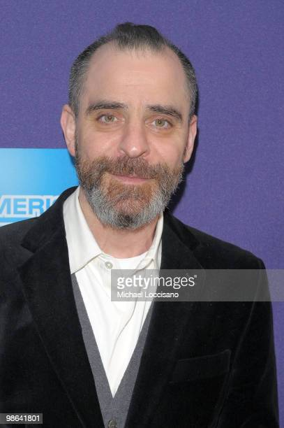 David Rakoff attends Shorts Hard Core during the 2010 Tribeca Film Festival at the School of Visual Arts Theater on April 23 2010 in New York City