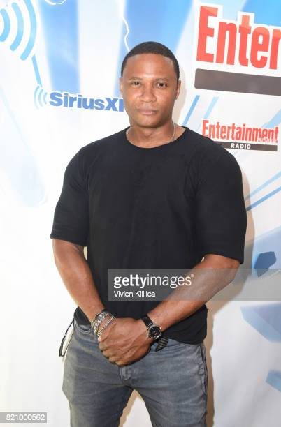 David Ramsey attends SiriusXM's Entertainment Weekly Radio Channel Broadcasts From Comic Con 2017 at Hard Rock Hotel San Diego on July 22 2017 in San...