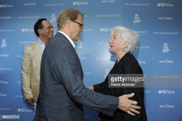 David Rasche and Olympia Dukakis attend THE CINEMA SOCIETY THE NEW YORKER host a screening of 'IN THE LOOP' at IFC Center on July 13 2009 in New York