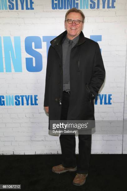 David Rasche attends 'Going in Style' World Premiere at SVA Theatre on March 30 2017 in New York City