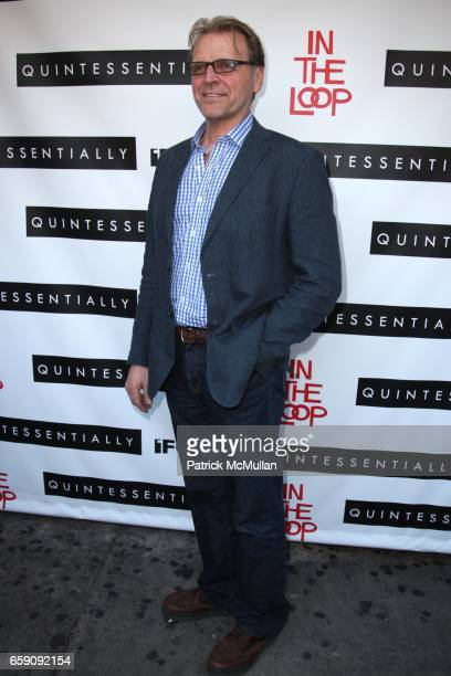 David Rasche attends QUINTESSENTIALLY and IFC FILMS Host a Special Screening of IN THE LOOP at IFC Center on April 26 2009 in New York City