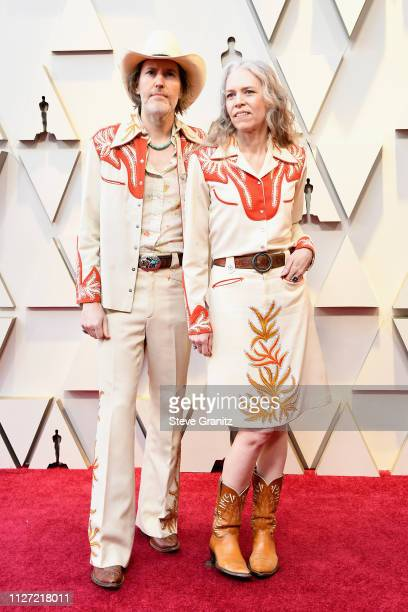 David Rawlings and Gillian Welch attend the 91st Annual Academy Awards at Hollywood and Highland on February 24 2019 in Hollywood California