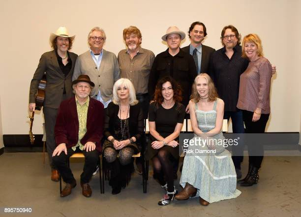 David Rawlings Country Music Hall of Fame and Museum's Kyle Young Mac McAnally Jason Isbell Country Music Hall of Fame and Museum's Peter Cooper...