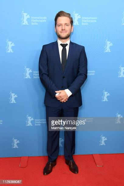 David Reichelt attends the 8 Days premiere during the 69th Berlinale International Film Festival Berlin at Zoo Palast on February 13 2019 in Berlin...