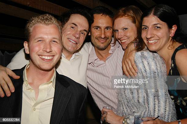 David Reisner R Couri Hay David Schlachet Lara Schlachet and Marie Assante attend Pink Elephant at Pink Elephant on May 27 2006 in Southampton NY