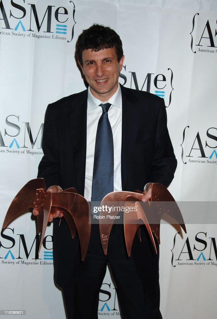 David Remnick during The 40th Annual National Magazine Awards at Frederick P Rose Hall Home of Jazz at Lincoln Center in New York City, New York, United States.