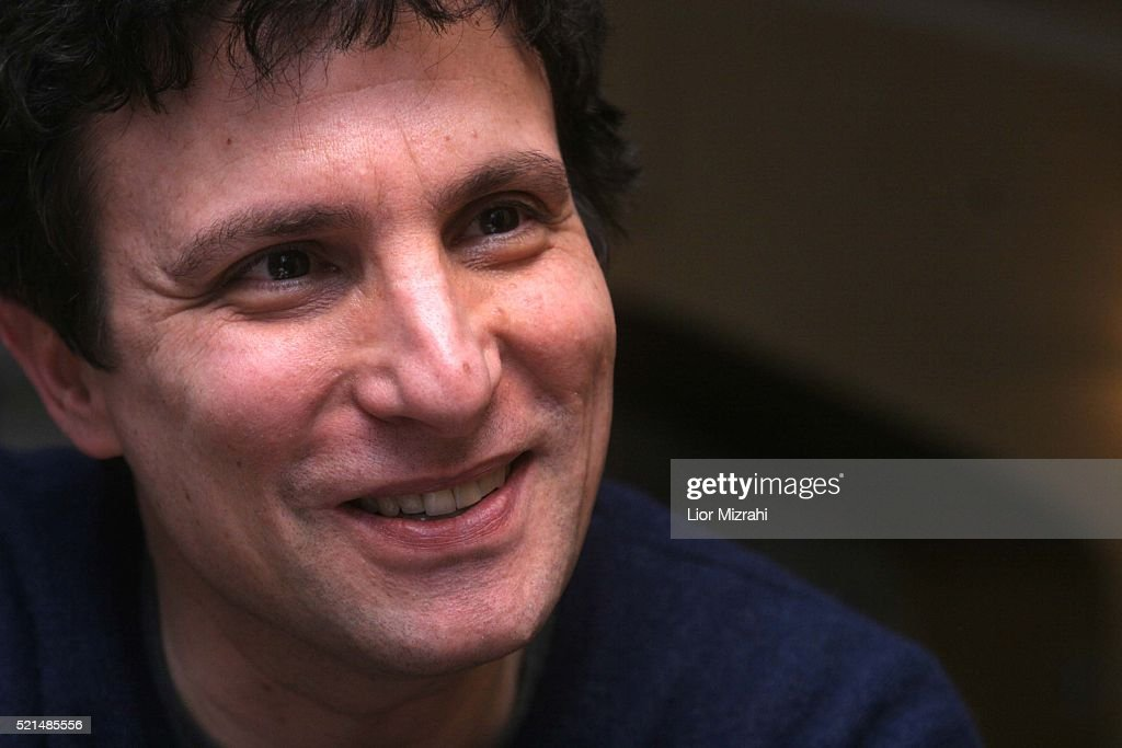 David Remnick, editor of The New Yorker, smiles during an interview on February 06, 2006 in Jerusalem, Israel.