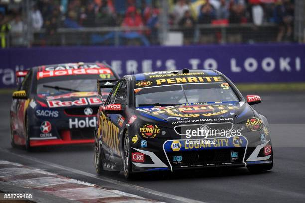 David Reynolds drives the Erebus Motorsport Penrith Racing Holden Commodore VF during Bathurst 1000 which is part of the Supercars Championship at...