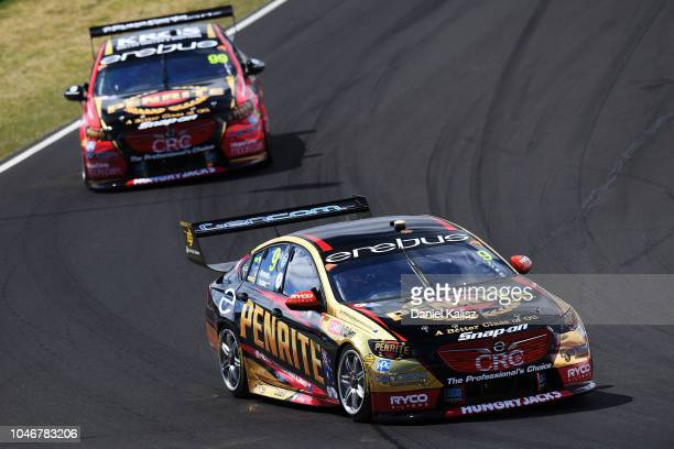 David Reynolds drives the Erebus Penrite Racing Holden Commodore ZB during the Bathurst 1000 which is race 25 of the Supercars Championship at Mount...