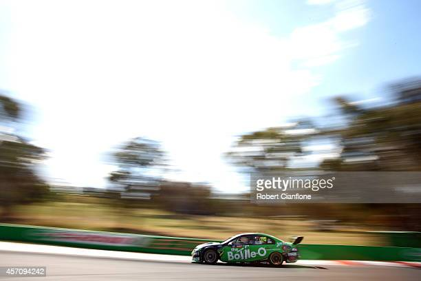 David Reynolds drives the The BottleO Racing Team Ford during the Bathurst 1000 which is round 11 and race 30 of the V8 Supercars Championship Series...