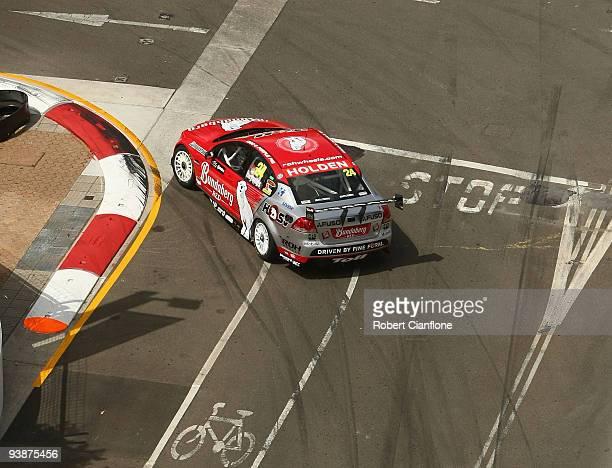 David Reynolds drives the Walkinshaw Racing Holden during