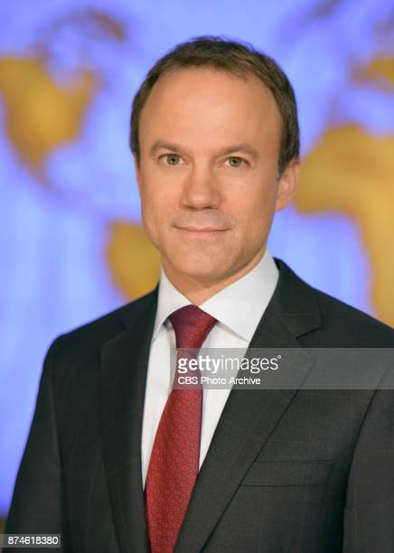 David Rhodes CBS News President in Studio 57 at the Broadcast Center NYC