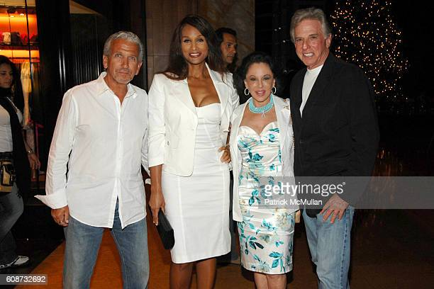 David Richards Beverly Johnson Nikki Haskell and Mickey Berke attend MANDARIN ORIENTAL HOTEL GROUP Party for the SOTHEBY'S Contemporary Asian Art...