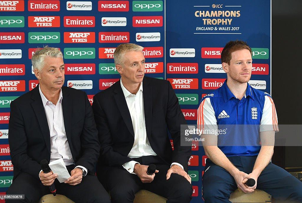ICC Champions Trophy 2017 Launch : News Photo