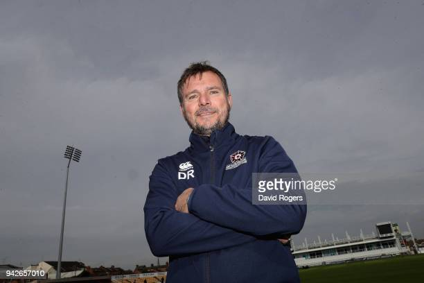 David Ripley the Northamptonshire head coach poses during the photocall held at The County Ground on April 6 2018 in Northampton England