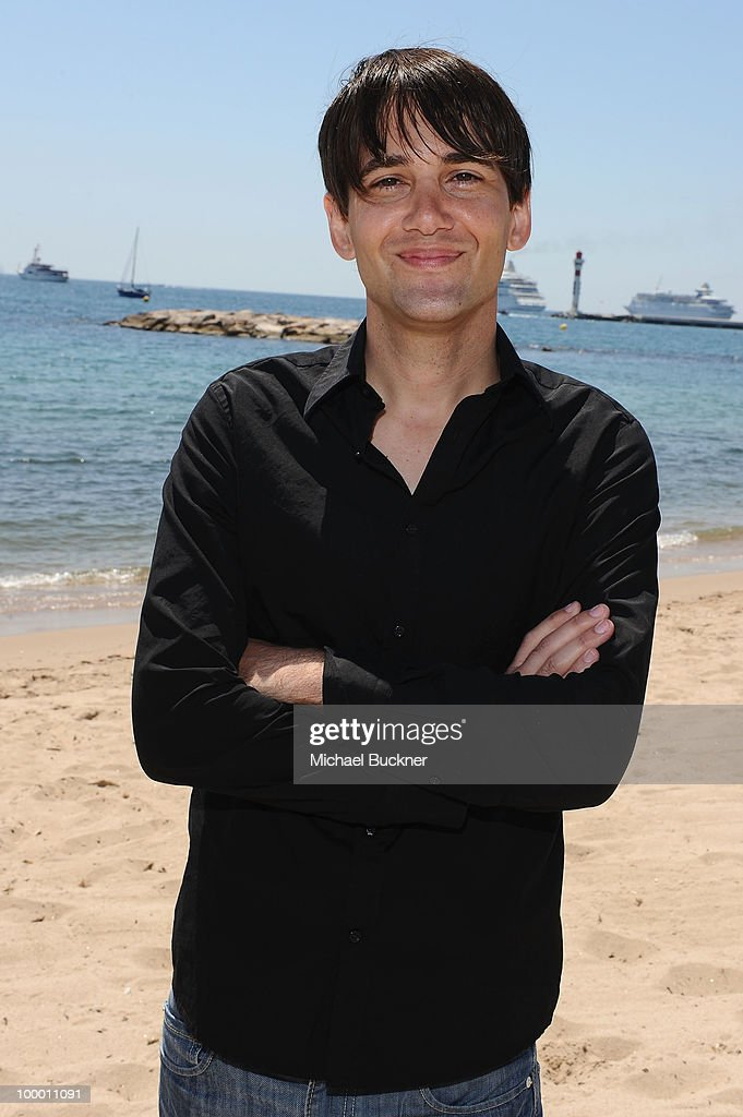 David Robert Mitchell attends the 'Myth of the American Sleepover' Photocall held at the American Pavillion during the 63rd Annual Cannes Film Festival on May 20, 2010 in Cannes, France.