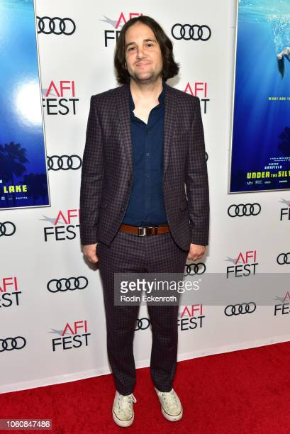 David Robert Mitchell attends the screening of Under The Silver Lake during AFI FEST 2018 presented by Audi at the Egyptian Theatre on November 12...