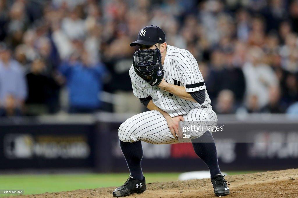 American League Wild Card Game - Minnesota Twins v New York Yankees : News Photo