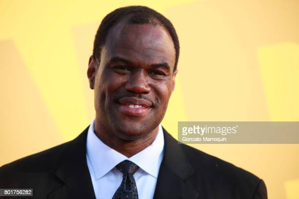 David Robinson attends the 2017 NBA Awards at Basketball City Pier 36 South Street on June 26 2017 in New York City