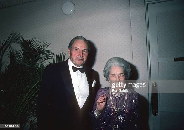 David Rockefeller during Rockefeller Family File Photos United States