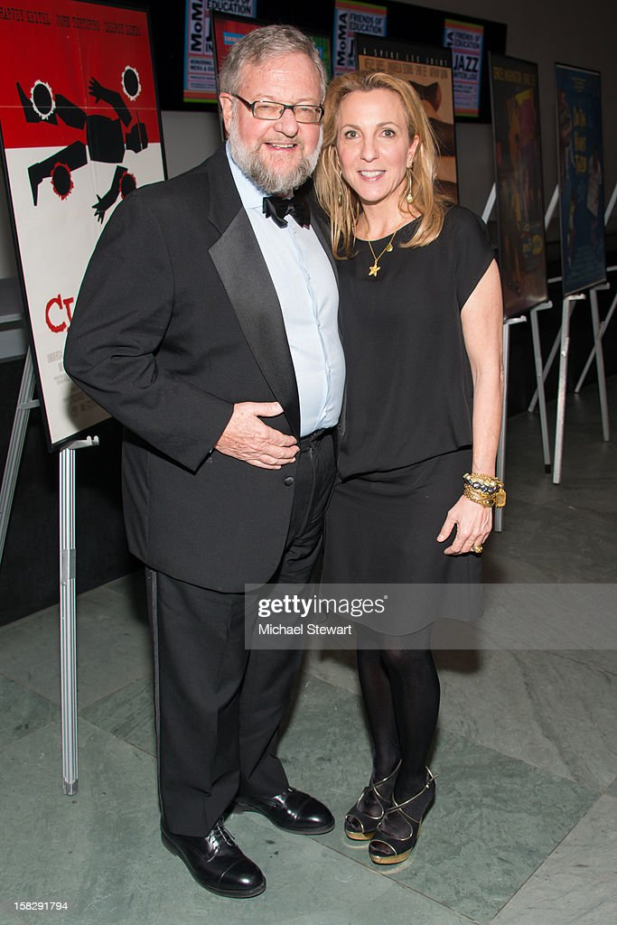 David Rockefeller Jr. (L) and Susan Rockefeller attend The Museum of Modern Art's Jazz Interlude Gala after party at Museum of Modern Art on December 12, 2012 in New York City.