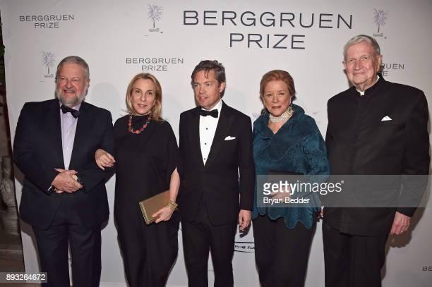 David Rockefeller Jr Susan Cohn Rockefeller Chairman of the Berggruen Institute Nicolas Berggruen Wendy Luers and William Luers attend the Berggruen...
